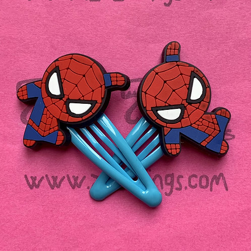 Spider-Man Snap Hair Clips