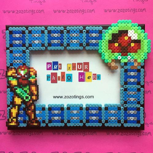 Metroid Pixel Frame