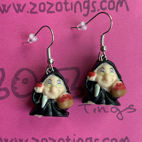 Snow White 'Old Lady' Earrings