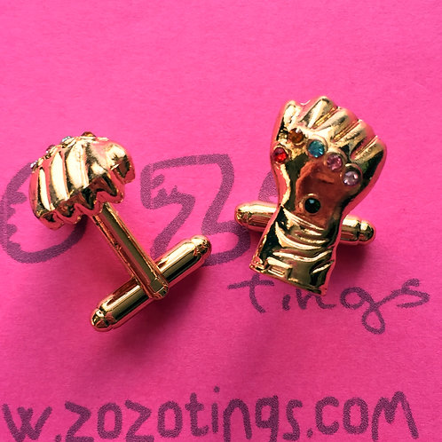 Thanos 'Infinity Gauntlet' Metal Cufflinks