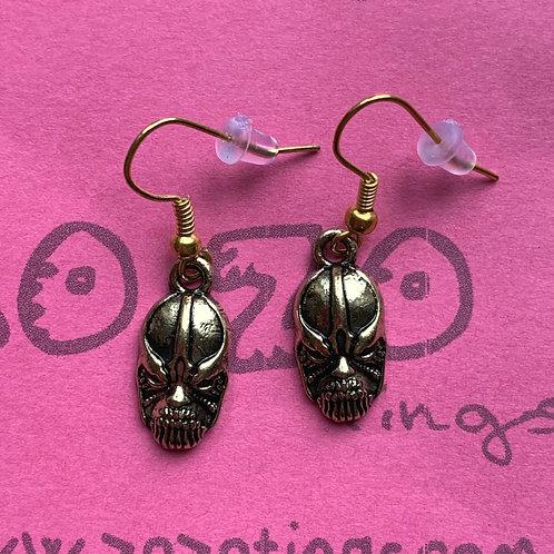 Thanos Metal Earrings