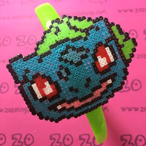 Pokemon Bulbasaur Pixel Headband