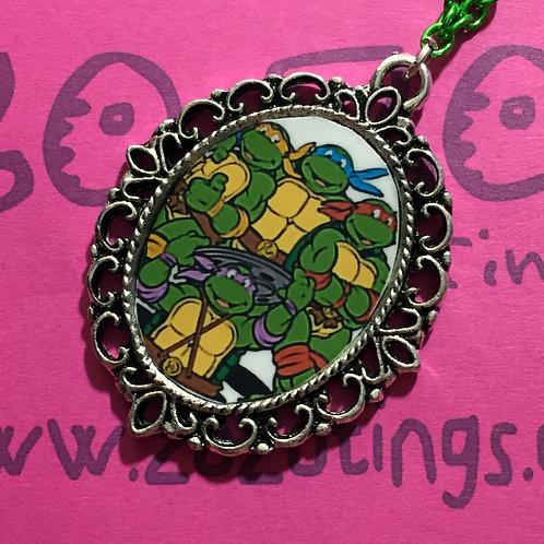 Turtles 'TMNT' Vintage Pendant