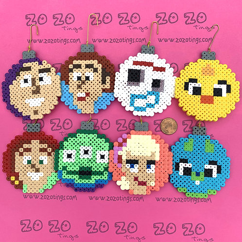 Toy Story Pixel Baubles