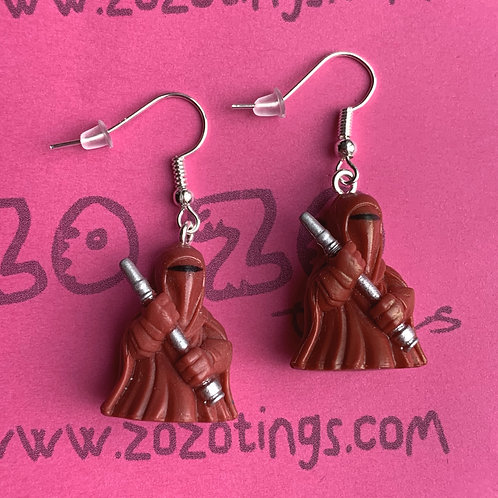 Star Wars Imperial Guard Fighter Pod Earrings