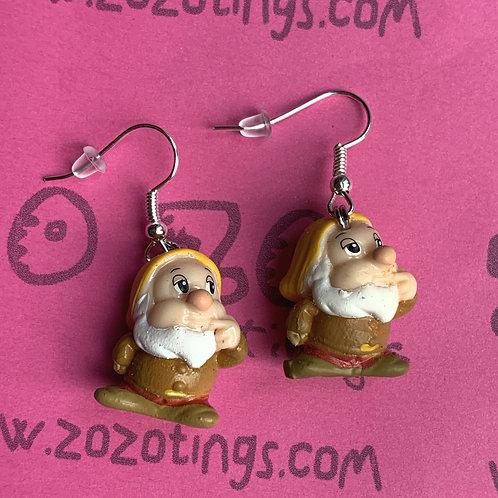 Snow White 'Sneezy' Earrings