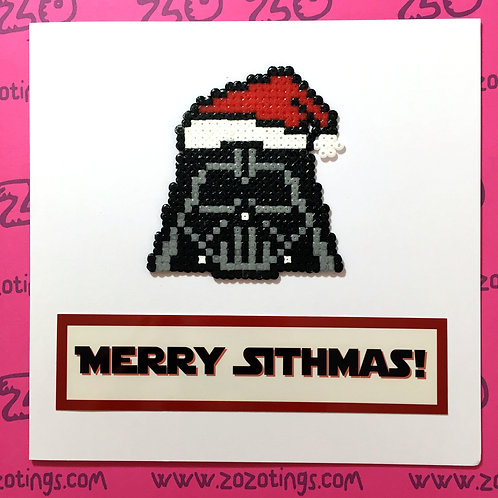Star Wars Darth Vader Merry Sithmas! Card