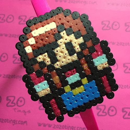 Frozen Anna Pixel Headband