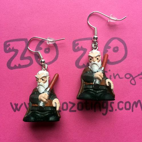 Star Wars Count Dooku Fighter Pod Earrings