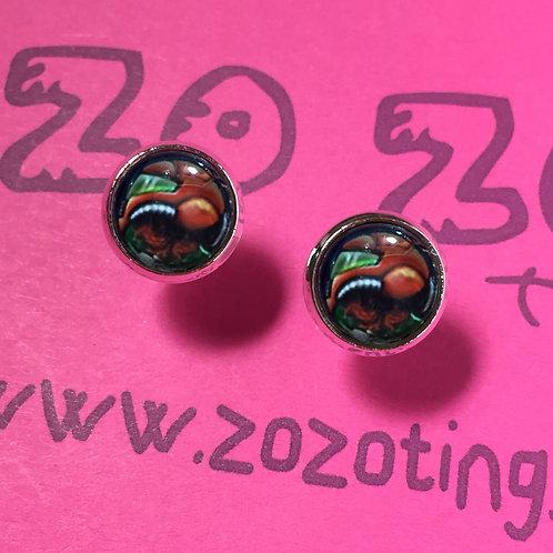 Metroid Stud Earrings
