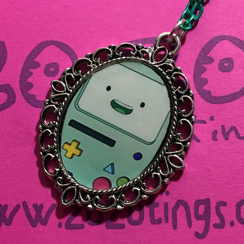 Adventure Time BMO Vintage Pendant
