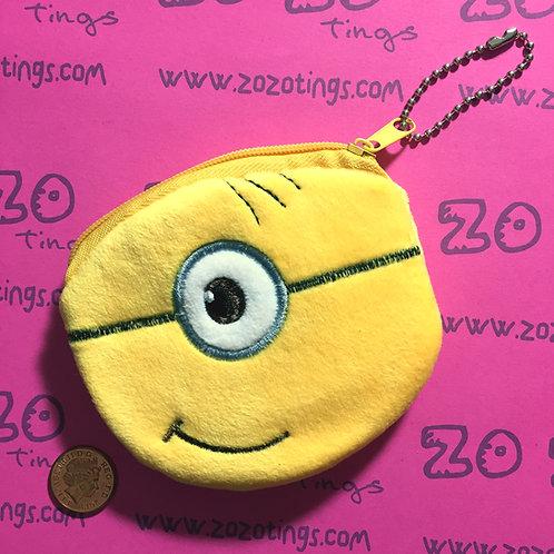 Minion One Eye Coin Purse