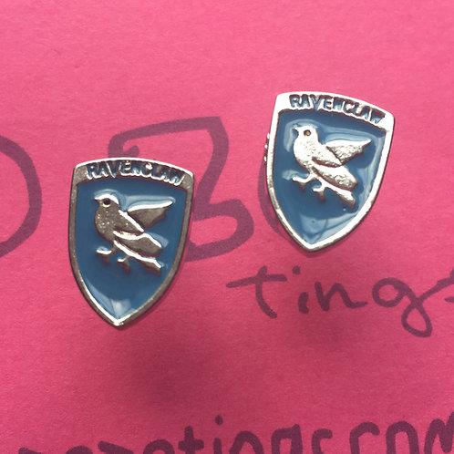 Harry Potter Ravenclaw Metal Stud Earrings