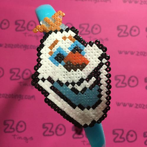 Frozen Olaf Pixel Headband