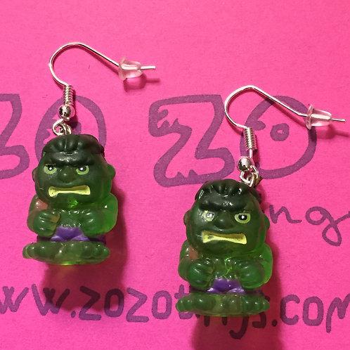 The Hulk Squinkie Earrings