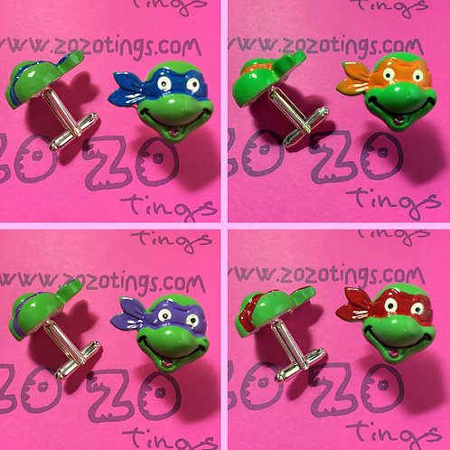 Turtles 'TMNT' Cufflinks