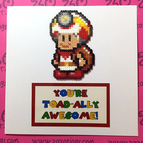 You're Toad-ally Awesome Card