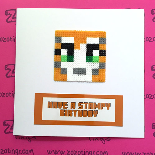 Have A Stampy Birthday Card