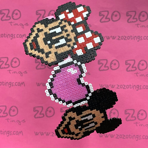 Mickey & Minnie Mouse Pixel Headband