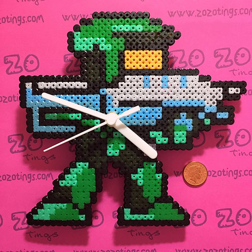 Halo 'Master Chief' Pixel Clock