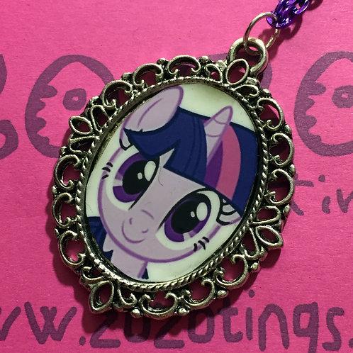 Twilight Sparkle Vintage Pendant