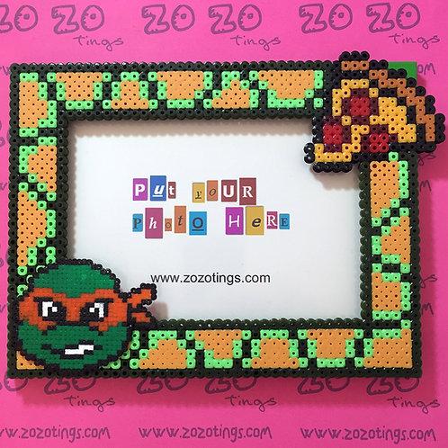 Turtles 'TMNT' Pixel Photo Frame