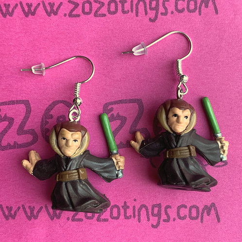 Star Wars Saesee Tiin Fighter Pod Earrings