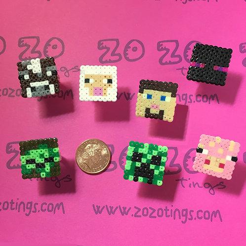 Minecraft Pixel Rings
