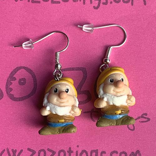 Snow White 'Happy' Earrings