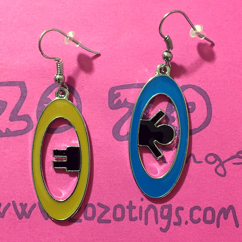 Portal Metal Earrings