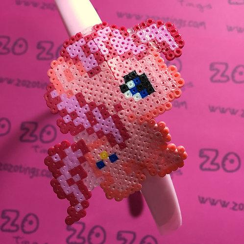 Pinkie Pie Pixel Headband
