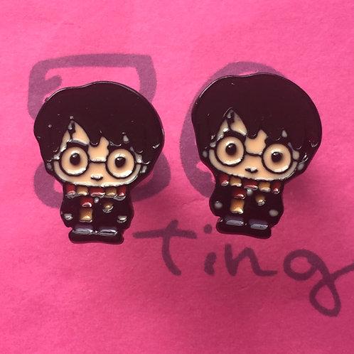Harry Potter Metal Stud Earrings
