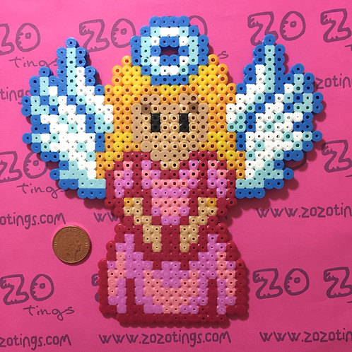 Princess Peach Christmas Tree Topper