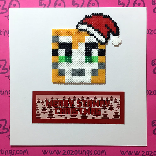 Merry Stampy Christmas Card
