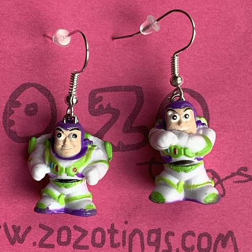 Toy Story Buzz Lightyear Earrings