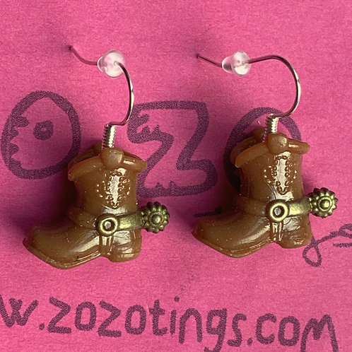 Toy Story Sheriff Woody's 'Boot' Earrings