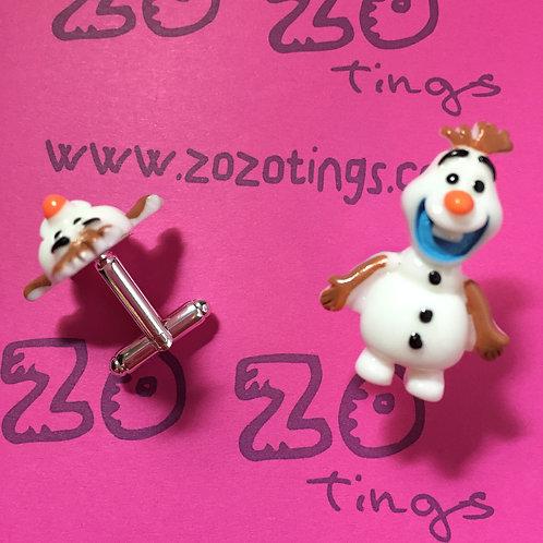 Frozen Olaf Cufflinks