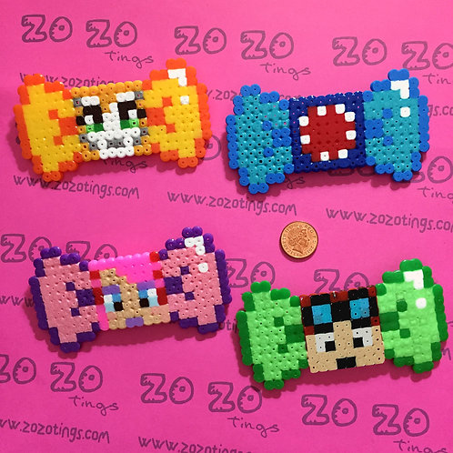 Minecraft All-stars Pixel Hair Bows