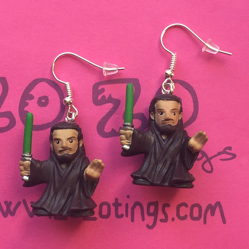 Star Wars Qui-Gon Jinn Fighter Pod Earrings