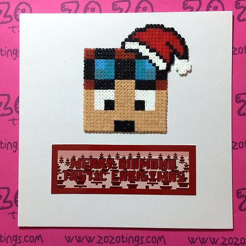 Merry Diamond Tastic Christmas Card