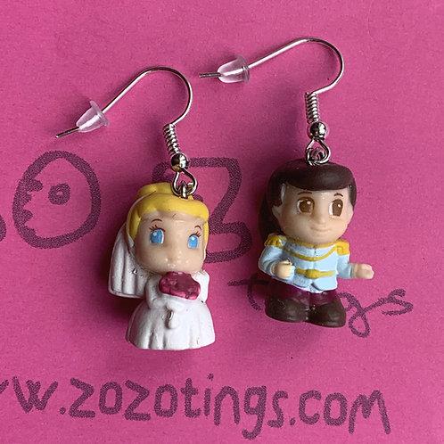 Cinderella 'Wedding Dance' Earrings