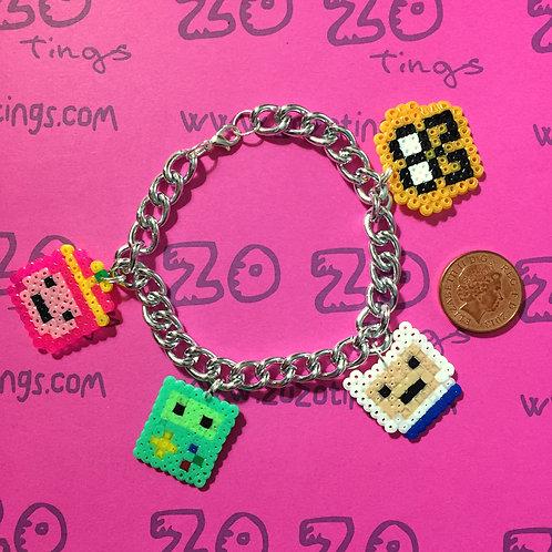 Adventure Time Pixel Bracelet