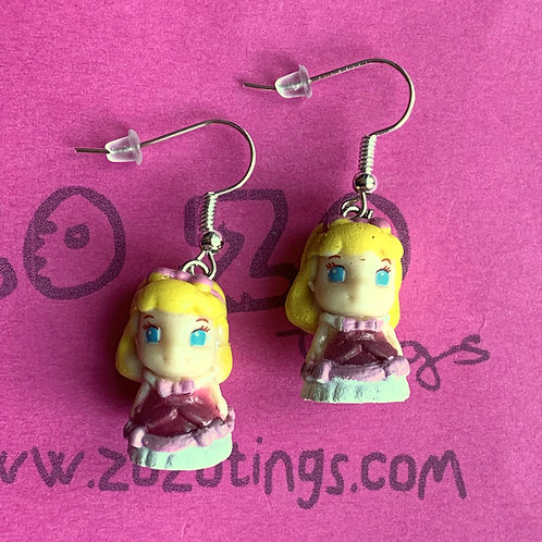 Cinderella 'You Shall Go To The Ball' Earrings