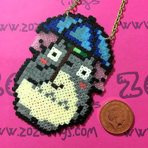 Totoro Pixel Necklace