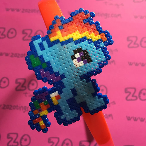 Rainbow Dash Pixel Headband