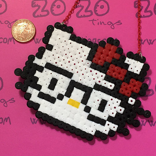 Hello Kitty Geek Pixel Necklace