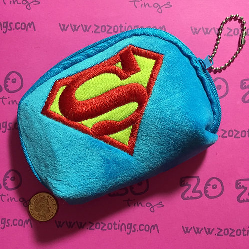 Superman Shield Coin Purse