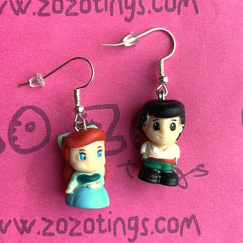 The Little Mermaid 'Kiss the Girl' Earrings