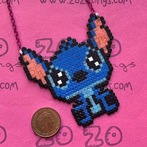 Stitch Pixel Necklace