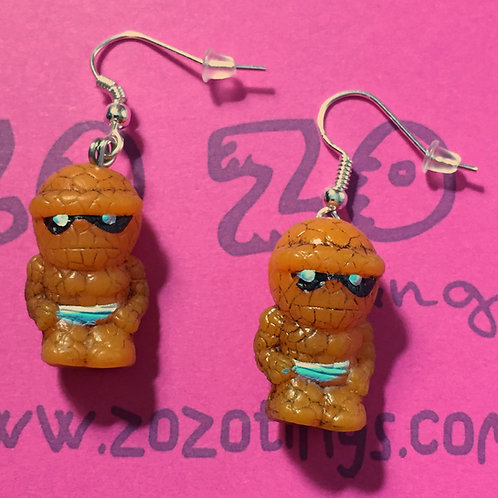 The Thing Small Squinkie Earrings